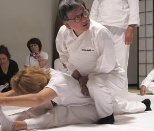 Ohashi en démonstration